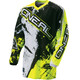 ONeal Element - Maillot manga larga Niños - Shocker amarillo